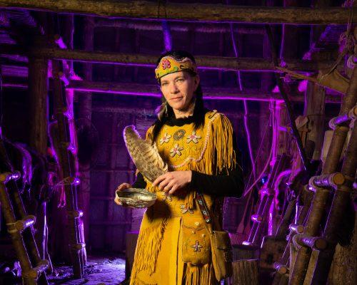 Conteur, autochtone, premières nations, mythes et légendes - Tourisme Wendake